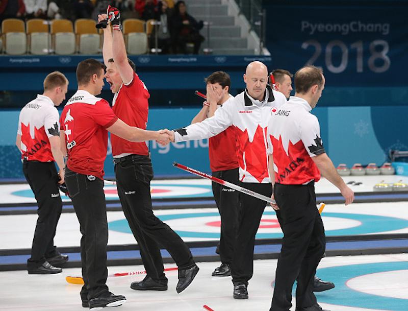 Canada fuori dal podio del curling maschile