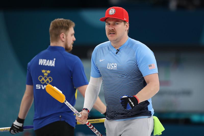 Clamoroso oro contro pronostico degli Stati Uniti nel curling maschile, battuta la Svezia in finale