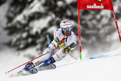 Gli slalomgigantisti azzurri per le gare di Coppa del Mondo di Adelboden