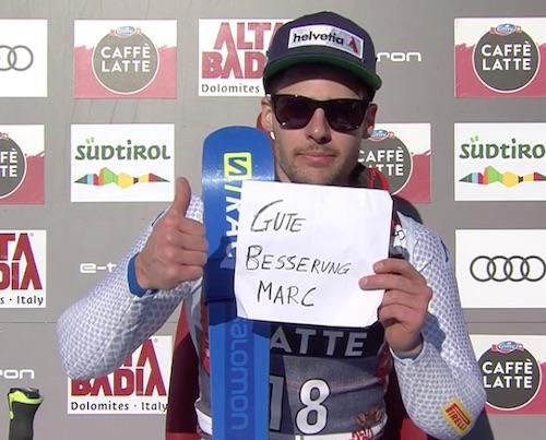De Aliprandini: 'Segnale importante'. Luca farà il gigante parallelo con Manfred Moelgg e Riccardo Tonetti