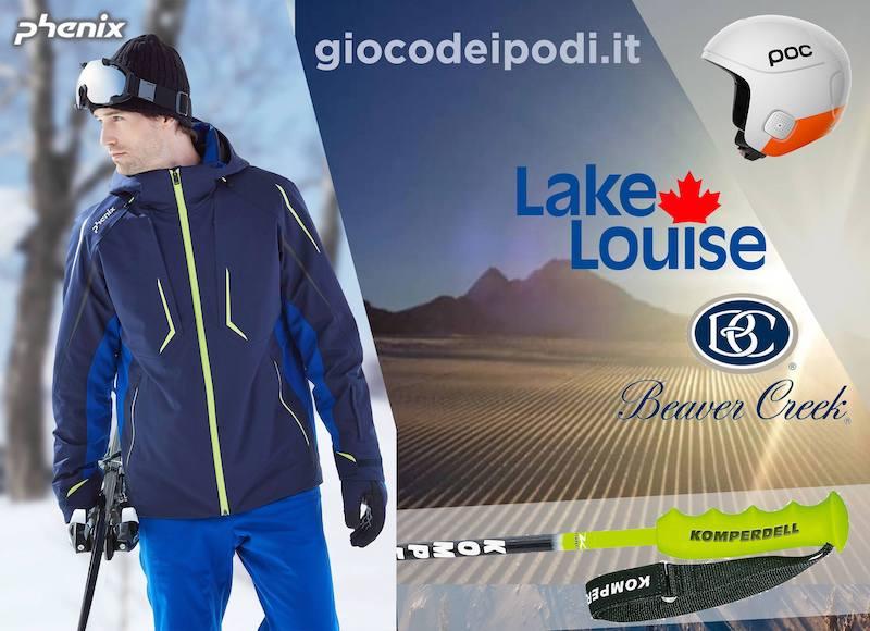 Indovina i podi di Coppa del Mondo di sci alpino di Lake Louise e Beaver Creek, in palio premi Phenix, POC e Komperdell