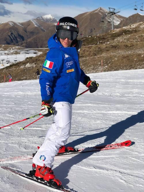 Sofia Goggia ci riprova: di nuovo sugli sci all'Alpe Lusia