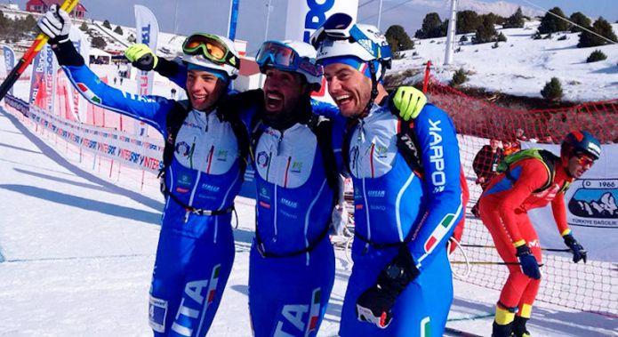 L'Italia dello sci alpinismo per la stagione 2017-2018
