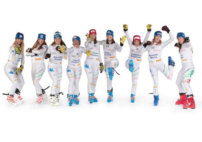L'Italia per gli slalom di Coppa del Mondo di Levi