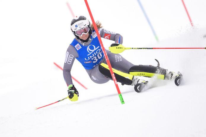 Anne-Sophie Barthet vince la combinata di Coppa Europa di Kvitfjell