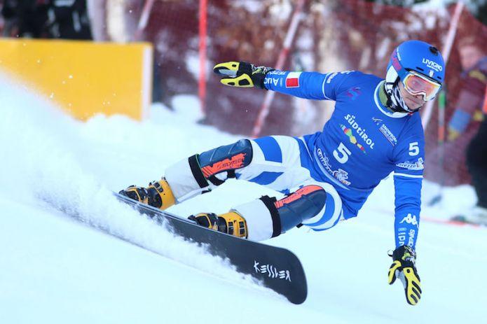 Maurizio Bormolini terzo nello slalom parallelo di Coppa del Mondo di Bad Gastein