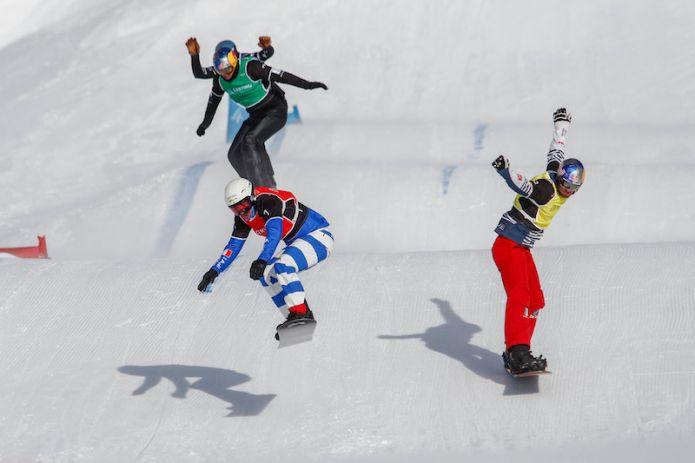 Si recupera a Cervinia la tappa di Coppa del Mondo di snowboard cross cancellata a Montafon