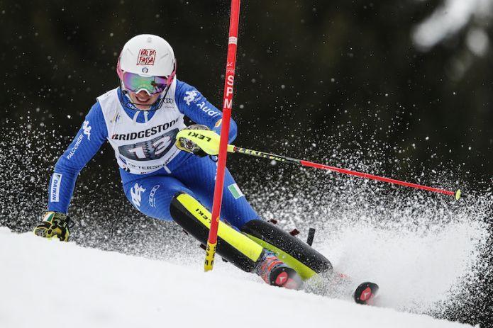 Piove a Levi ma gli slalom di Coppa del Mondo non sembrano in pericolo