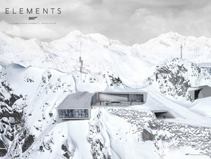 007 Elements: a Sölden apre la nuova installazione cinematografica di James Bond