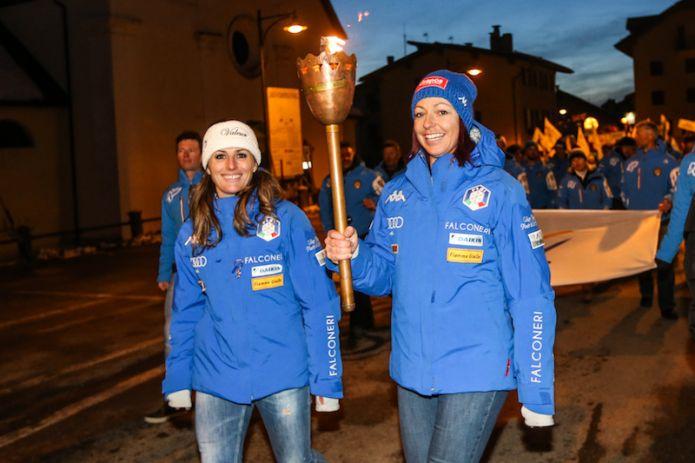 Nadia Fanchini e Hanna Schnarf danno il via alla 47a ALPECIMBRA FIS Children Cup