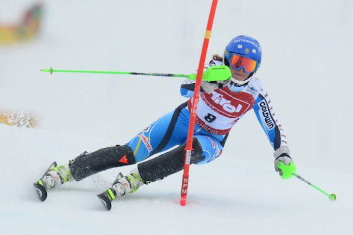 Magdalena Fjällström vince lo slalom in notturna di Coppa Europa di Zell am See