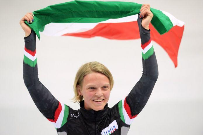 Arianna Fontana portabandiera dell'Italia a PyeongChang