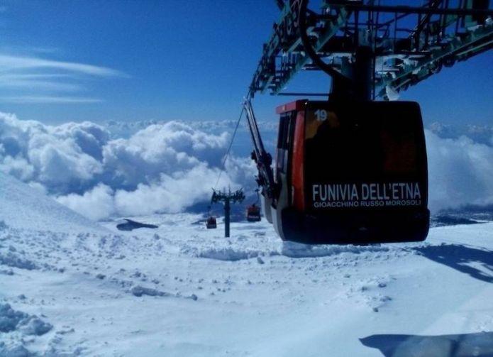 In arrivo sull'Etna una nuova cabinovia Leitner da 10 posti per cabina