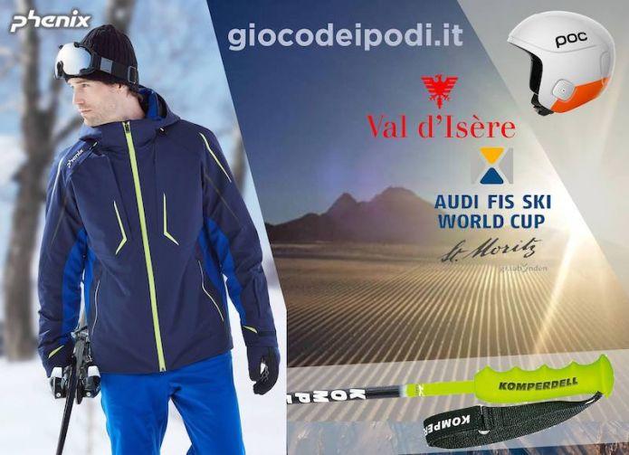 Indovina i podi di Coppa del Mondo di sci alpino di St. Moritz e Val d'Isère, in palio splendidi premi Phenix, POC e Komperdell