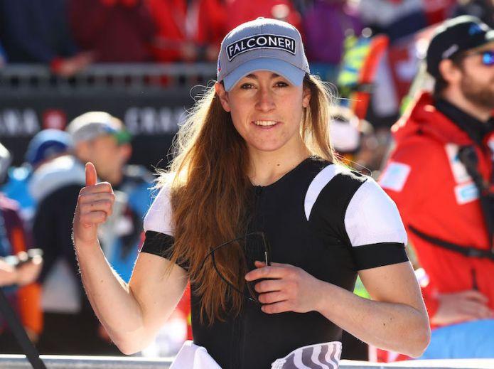 Sofia Goggia: 'Mi hanno fermata a 10 secondi dalla partenza ma sono rimasta concentrata'