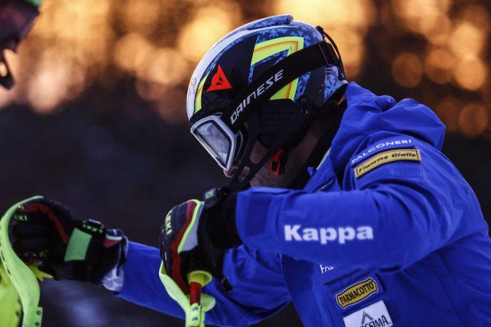Gli azzurri per lo slalom di Val d'Isère: forfait di Stefano Gross, c'è Giuliano Razzoli