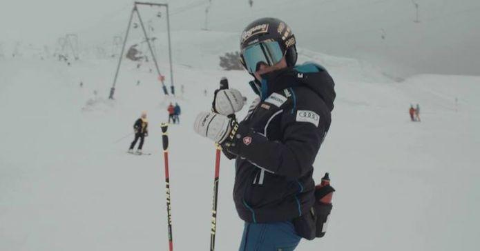Lara Gut è tornata sugli sci