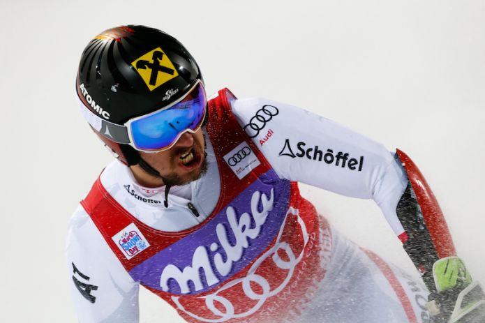 Show Hirscher ad Adelboden, De Alipradini sfiora podio