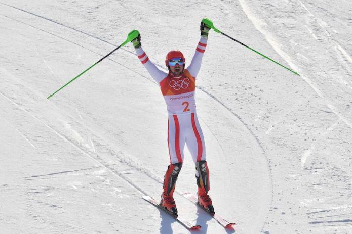 Marcel Hirscher sfata il tabù: è oro olimpico in combinata ed entra definitivamente nella leggenda