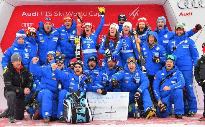 L'Italia femminile dello sci alpino per la stagione 2018-2019