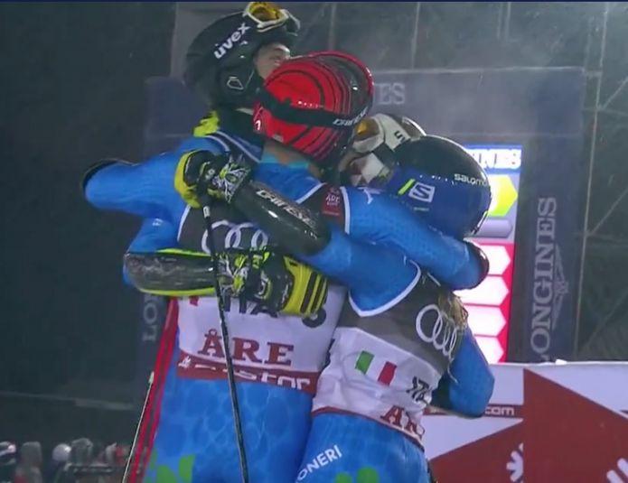 italia bronzo nel Team Event dei Mondiali di Are! Oro alla Svizzera, argento all'Austria
