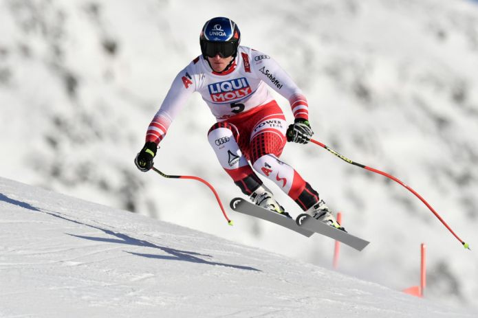 Matthias Mayer il più veloce nella prima prova maschile di Are