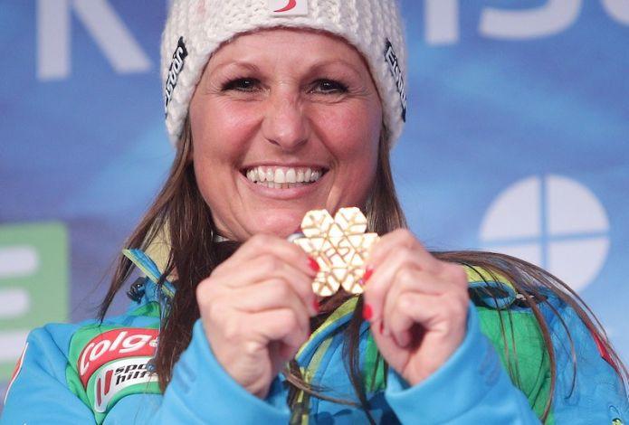 Claudia Riegler e Stefan Baumeister vincono gli slalom paralleli di Coppa del Mondo di Bad Gastein