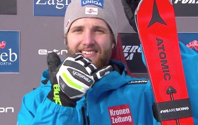 Dominio austriaco nella prima manche dello slalom di Zagabria