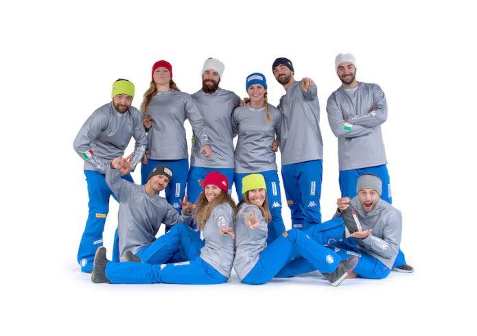 I gruppi azzurri del parallelo e dello snowboard cross di nuovo allo Stelvio