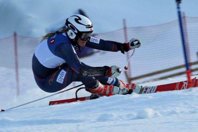 Thea Louise Stjernesund vince il primo dei due giganti di Zinal di Coppa Europa