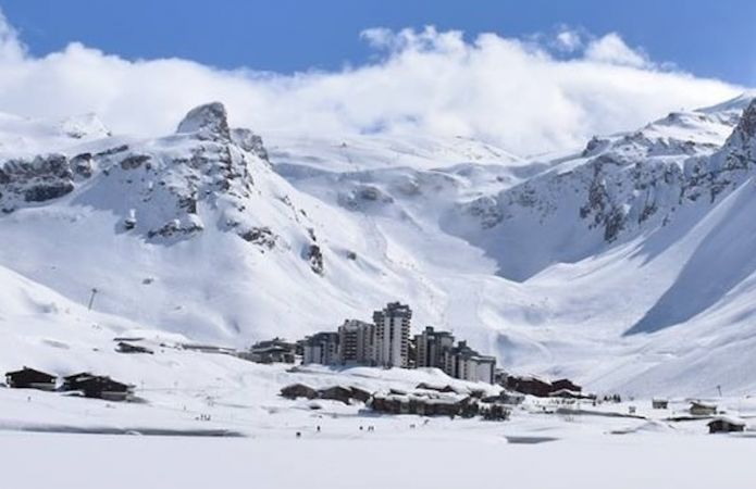 A Tignes è imminente l'apertura della stagione sciistica estiva