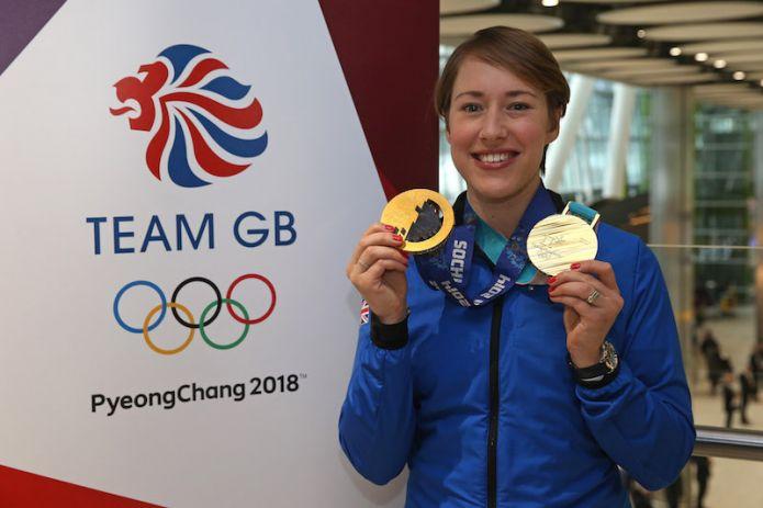 Si ritira la doppia campionessa olimpica Lizzy Yarnold