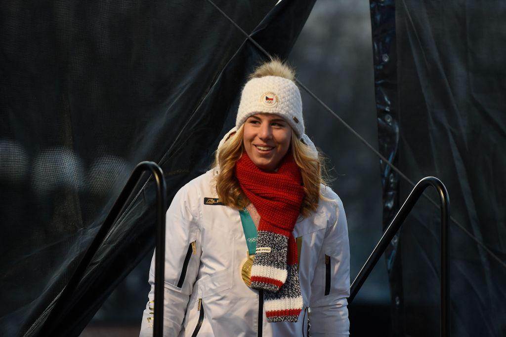 Ester Ledecka battuta nel secondo gigante parallelo di Coppa del Mondo di PyeongChang