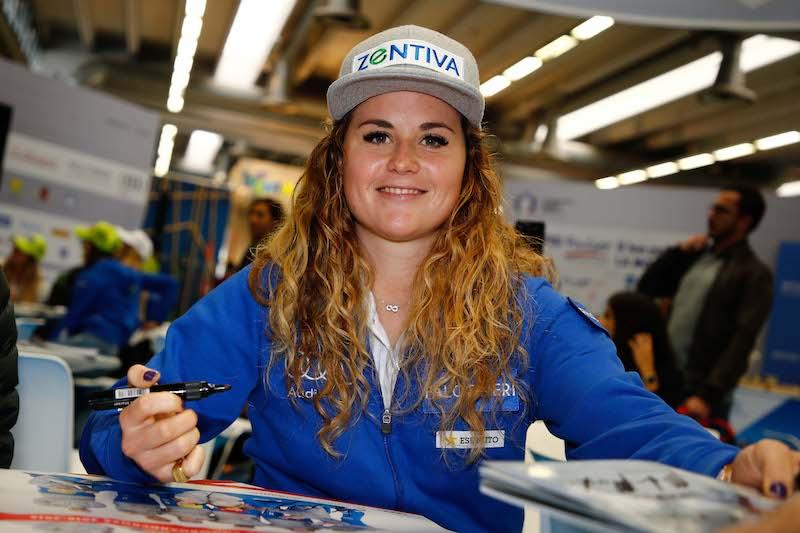 Due giorni di allenamenti in solitaria a Cervinia per Michela Moioli