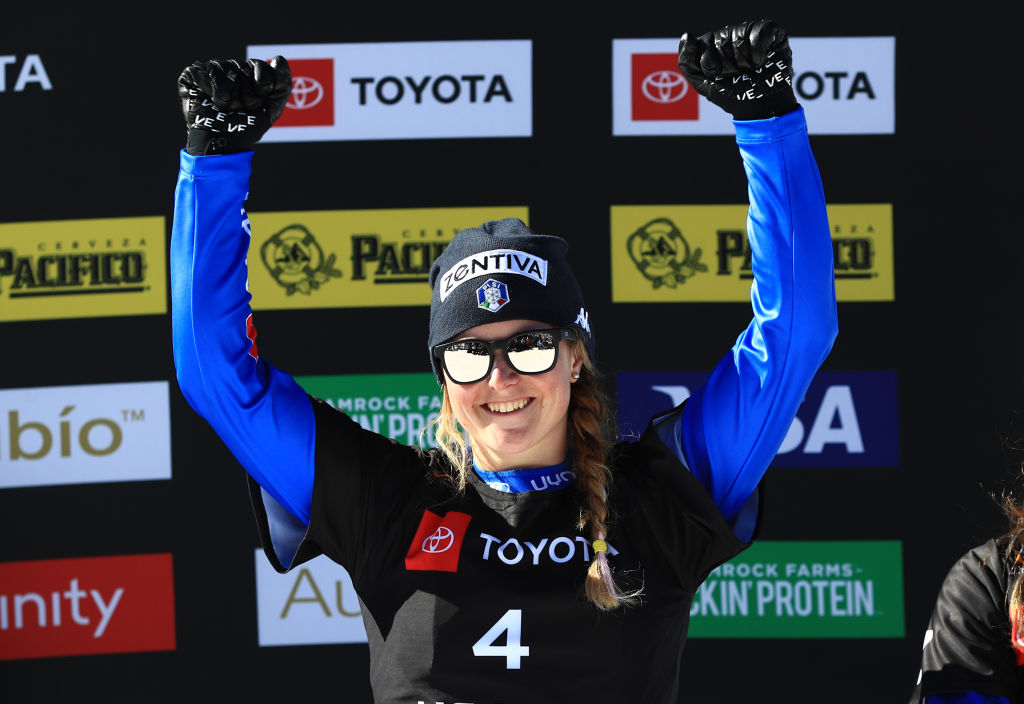 Michela Moioli seconda nello snowboard cross di Coppa del Mondo di Feldberg