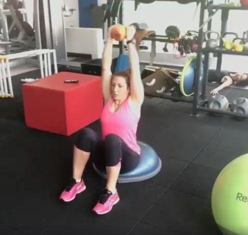 VIDEO - Elena Fanchini si allena in palestra!