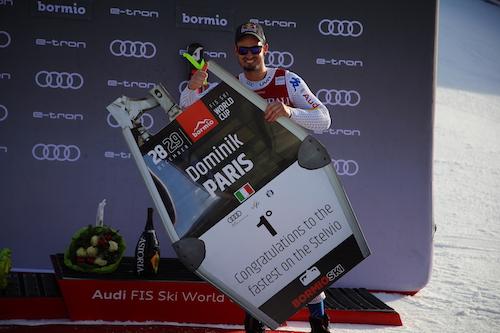 Dominik Paris si ripete trionfando anche nel superG di Bormio!