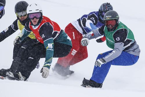 Emanuel Perathoner primo e Michela Moioli terza negli snowboard cross-2 di Coppa del Mondo di Cervinia!