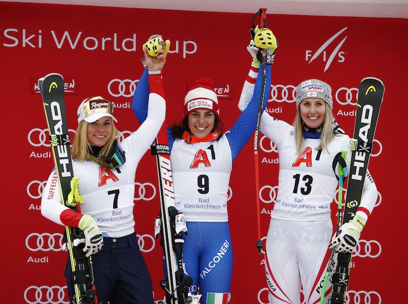 Brignone: 'Ho lasciato andare gli sci al massimo' Nadia Fanchini: 'Lotto anche per mia sorella'