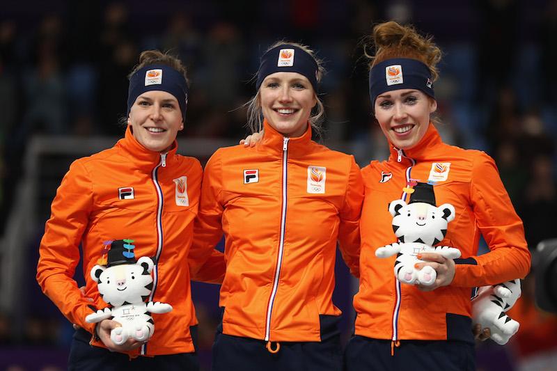 Subito tripletta olandese nel pattinaggio di velocità