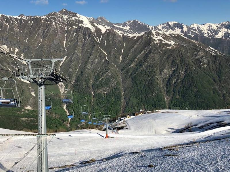 A Prali si scia anche nel weekend del 2 giugno