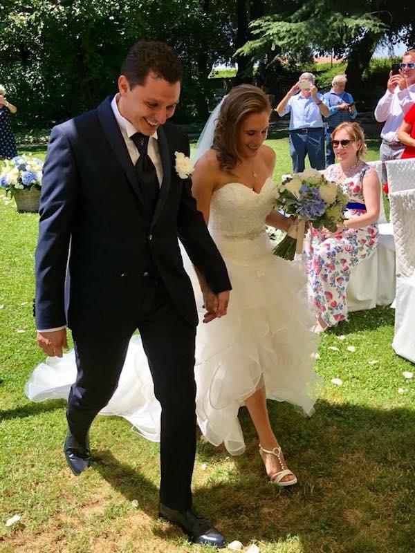 Sabrina Fanchini si è sposata