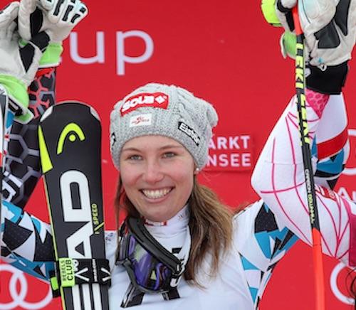 Christine Scheyer la più veloce nella prima prova cronometrata di Lake Louise