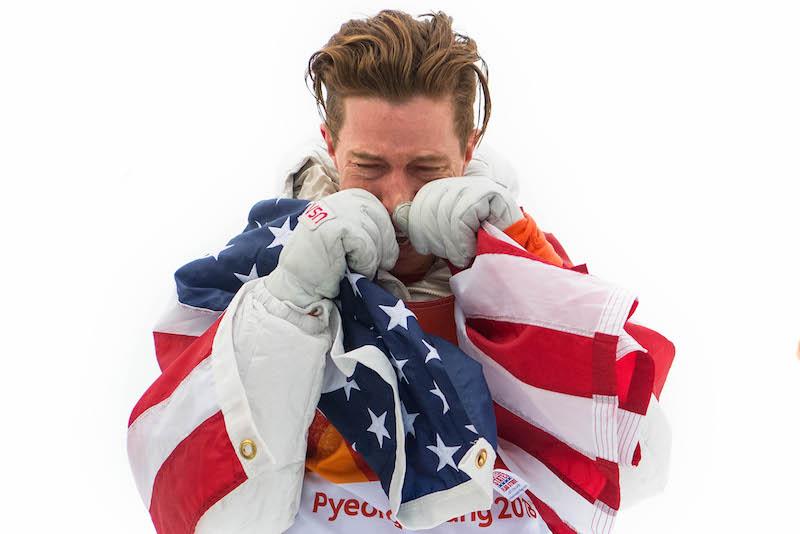 Tris leggendario di Shaun White nell'halfpipe olimpico maschile