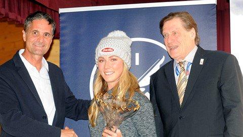 A Mikaela Shiffrin lo Skieur d'Or 2017