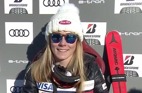 Non ce n'è per nessuna: Mikaela Shiffrin trionfa anche nel superG di St. Moritz
