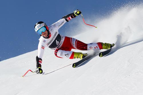 Ramona Siebenhofer la più veloce nell'ultima prova della Val Gardena