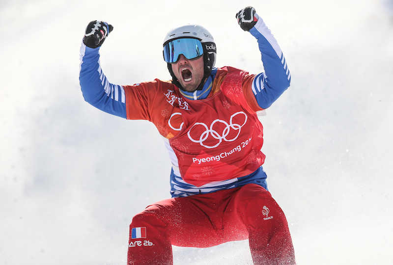 Italia lontana dal podio nello snowboard cross olimpico maschile, bis d'oro di Pierre Vaultier