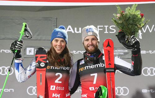 Petra Vlhova e Marco Schwarz vincono il City Event di Oslo