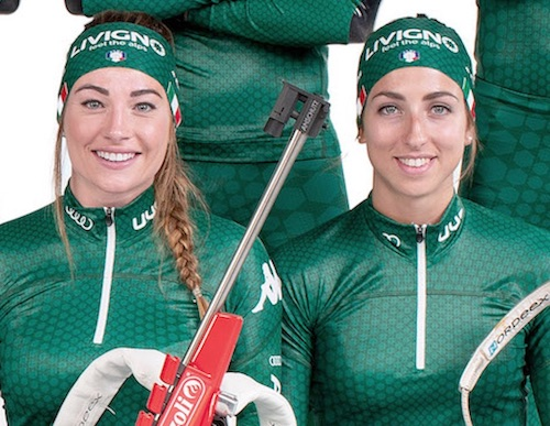 Lisa Vittozzi: 'Soddisfatta, le mie gare sono altre' Dorothea Wierer: 'Due bersagli mancati di un niente'